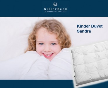 Sandra Medium Kinder Duvet Bettdecke von Billerbeck