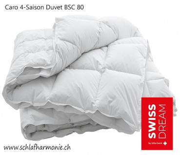 Swiss Dream Caro 4-Saison Duvet BSC 80 Entendaunen