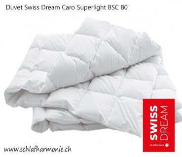 Duvet Swiss Dream Caro Superlight BSC 80 Entendaunen