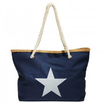 Damen Shopper Tasche blau