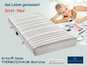 Airtec® Senso THERMOSCHAUM-Matratze 90x200 - Billerbeck