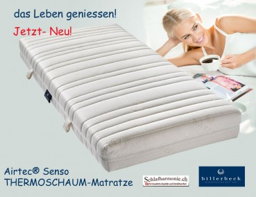 thermoschaum matratze 160x200 airtec senso moderne und praktische heimtextilien schlafzimmer. Black Bedroom Furniture Sets. Home Design Ideas
