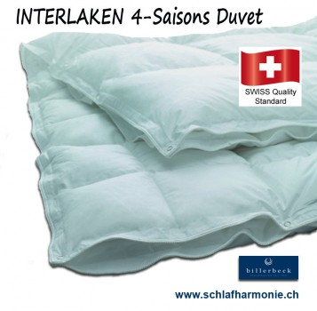 INTERLAKEN 90  4-Saisons-Duvet Bettdecke