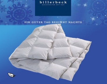 Traumwelten Medium Daunen-Duvet Aktion Bettdecke  Billerbeck