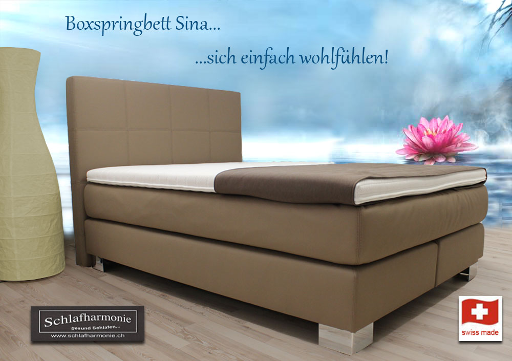 boxspringbett holz schweiz. Black Bedroom Furniture Sets. Home Design Ideas