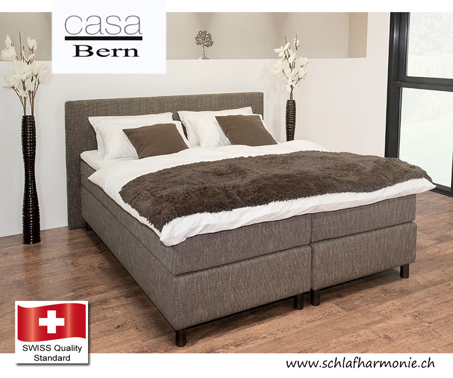 boxspringbett casc bern boxspringbetten kaufen bettwaren versch nern sie ihr schlafzimmer mit. Black Bedroom Furniture Sets. Home Design Ideas