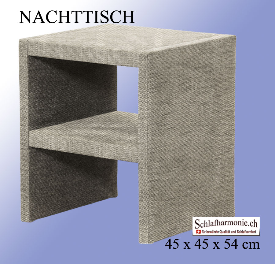 nachttisch passt optimal f r viele boxspringbetten duvet aktion kaufen. Black Bedroom Furniture Sets. Home Design Ideas