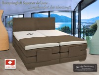 Motor Braun-Superieur de luxe Boxspring made in Switzerland