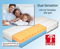 dual sensation Matratze swiss made Matratzen Kaufen