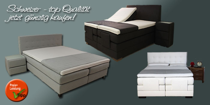 boxspringbett f r ihr schlafzimmer aktion. Black Bedroom Furniture Sets. Home Design Ideas